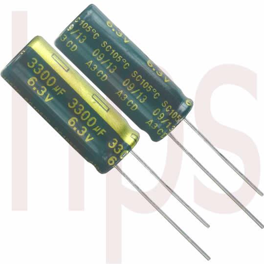 Elko Kondensator 2200µF 6,3V lesr